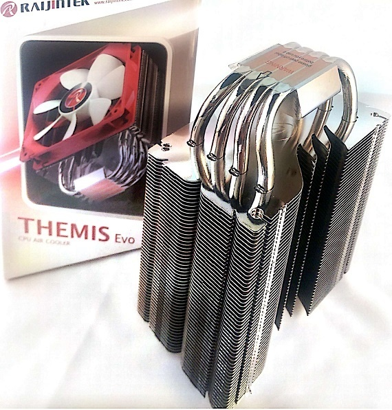Themis Evo Heat Pipes