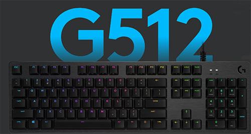 Logitech G512 Carbon Mechanical Gaming Keyboard Technoyard
